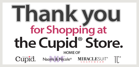 Thank you for Shopping at the Cupid Store.